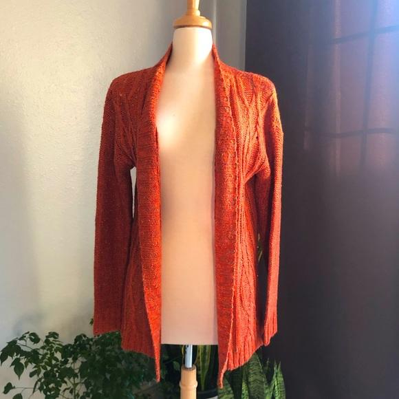 Beautiful burnt orange cardigan